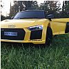 Audi R8 Yellow with 2.4G R/C under License
