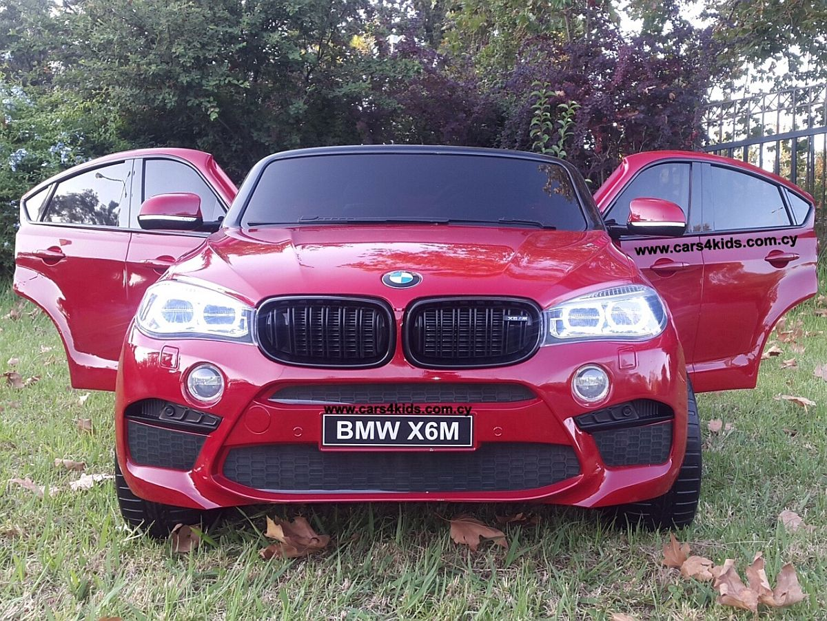 BMW X6M Painting Red with 2.4G R/C under License