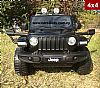 Jeep Wrangler Painting Black with 2.4G R/C under License