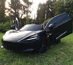 Mclaren 720 S Painting Black with 2.4G R/C under License