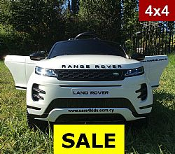 Range Rover Evoque White with 2.4G R/C under License