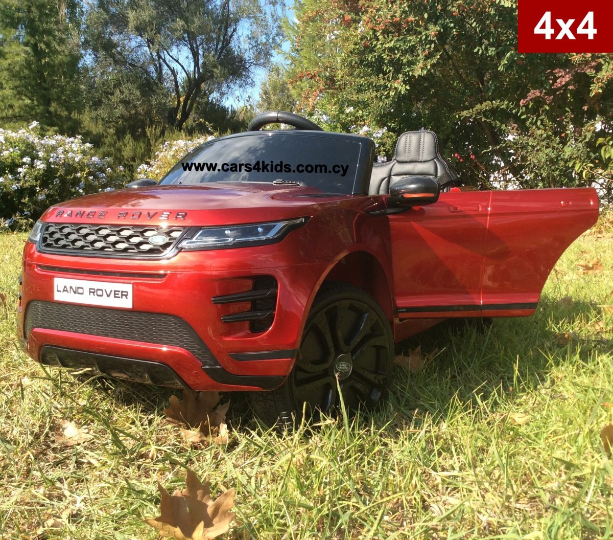 Range Rover Evoque Painting Red with 2.4G R/C under License