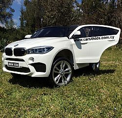 BMW X6 White Facelift with R/C under License