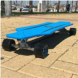 Hudora Longboard Cruise Star Blue