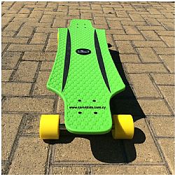 Hudora Longboard Cruise Star Green
